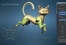 3D Rigging animals