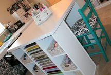 Craft Room inspiration / by Juli Rowe