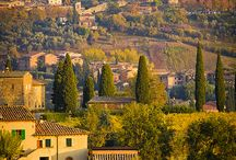 My beautiful Tuscany! / Here's where I live and work!