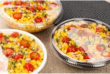 Cold Salad Bowls   Food On-The-Go / Our Salad plastic bowls come in a variety of sizes, colors and shapes, they are all made from premium material so you can feel confident that about using them in any kind of restaurant, catering or party environment. Restaurantware's disposable plastic bowls are top-notch, they can be recycled or tossed out after a party event, thus clean up is a snap.
