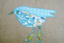 Birds of a feather..@ Folksy
