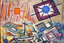 De Hirsch Margules / American Modernist De Hirsh Margules worked in both watercolors and oil with a rich, hot palette and a sophisticated understanding of movement, space and form. He was a fixture in the vibrant Greenwich Village art scene from the 1930s to the 1950s, and had over 30 solo exhibitions. Margules counted Alfred Stieglitz and John Marin as mentors and close friends, and both were instrumental in promoting his career.