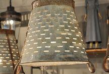 Objetos De Iluminación balde