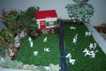 mijn diorama''s en tafereeltjes