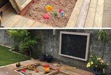 Детская зона в саду