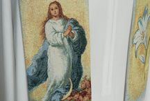 estolas sacerdotal inmaculada