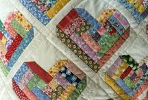 Quilts - Log Cabin / by Janie Breon