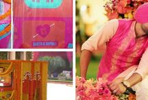 Mehendi, Haldi and Sangeet Ideas / Fun, witty, cool and out of box wedding ideas to have on your sangeet, engagement and wedding