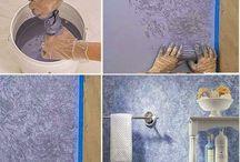 duvar teknikleri ve suslemeleri