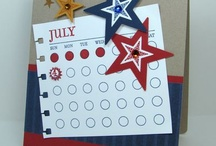 July 4th/Patriotic Cards / by Natalie Kennedy - Stampin' Up! Demonstrator