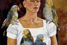art Frida Kahlo artist (Jeanette)