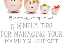 Finances/budget / by Mandy Rothweiler