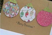 DIY-Weihnachtskarten / Wir basteln uns dieses Jahr die Weihnachtskarten mal selbst.  Damit kann man den Empfänger gleich doppelt erfreuen. Hier haben wir ein paar schöne Vorschläge gesammelt, wie auch Ihr die Weihnachtspost selbst gestalten könnt. Weitere Inspirationen findest Du auf blog.balloonas.com.