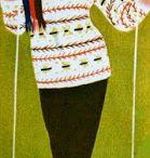 après ski / ski and chalet fashion / by Picasso Summer