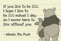 love pooh / by Jerald Mccaughan