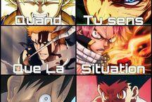Humour anime