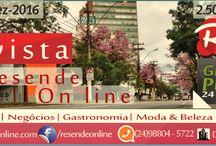 Portifólio Revista Resende online