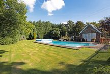 Homes with Swimming Pools / Your very own swimming pool in these homes for sale in Cheshire.