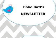 BOHO BIRDS THEME