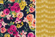 Flowers,fonts,frames