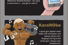 Gym Workouts / free weights and treadmill workouts, inspiration