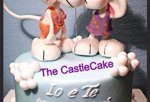 Valentin day cake
