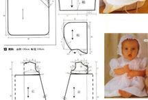 moldes ropa de bebe/niños