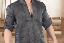 Short Kurta for men / Stylish and fancy shirts or T-shirts can never reflect the emotions and feelings that a traditional kurta does.