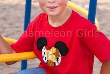 Mickey Head T-shirt / Disney inspired t-shirts.