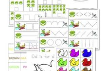 Kids printables / by Virginia D'alanno