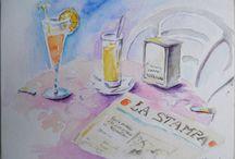 #Art, #Kunst, Aquarelles - Watercolour / Mes aquarelles - Watercolours - Dessins - Zeichnungen - Acquerello
