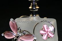 Glass Retro/Vintage Perfume Bottles