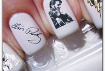 Elvis Presley nail art / by Becky Gregory