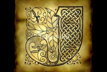 Calligraphie celtique