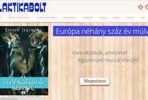 Portfólió / Webáruház készítés és honlap készítéskor létrejövő oldalaink