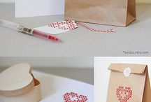 Fancy wrapping. / Gift wrapping ideas