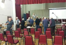 Exeter Woodcarvers gives a talk to Devon Woodturners