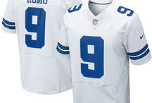 Cowboys #9 Tony Romo Home Team Color Authentic Elite Official Jersey