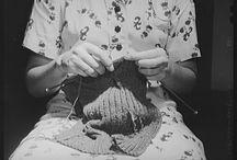Knitting in Art & History / Conceptual knitting, knitted art, historical knitting.