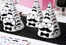 Pink Mustache Party Theme Ideas / We're not about to let the boys have all the fun! Check out the Pink Mustache Party Theme on #BirthdayExpress! / by Birthday Express