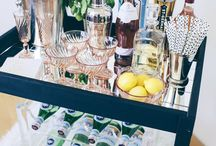 Amazing DIY Home Bars / Home Bar How-To's from around the Pinterest world