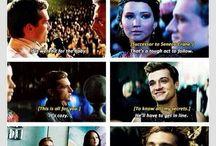 Hunger Games :) / Hunger Games mě přímo nadchli, takže i oni mají svou nástěnku. Zbožňuji Katniss a Peetu, jsou úchvatní a moc jim to spolu sluší :) :-*