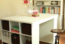 craft room / by Leticia Barron