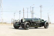 Bentley / Mostly 20s and 30s bentleys