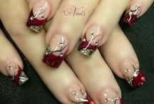 Acryl-nagelkunst