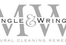 Mangle & Wringer / Mangle & Wringer is a range of natural cleaning remedies made with recipes dating back over 70 years.  www.mangleandwringer.co.uk