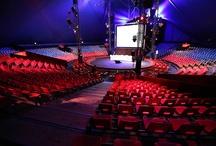 La Banque Populaire chez Arlette Gruss / lundi évènement sous le chapiteau du cirque Arlette Gruss avec la réception de 1500 sociétaires de la Banque Populaire (notre banque) !
