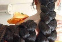 Włosy,warkocze,koki