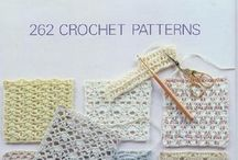Crochet Books and Stitches