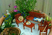 Miňi zahrada